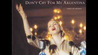 Madonna - Don't Cry For Me Argentina (Miami Dub Mix)