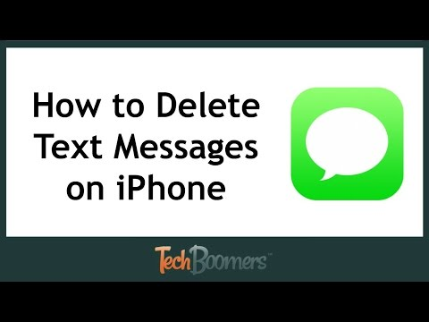 How to Delete Text Messages on iPhone