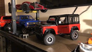 RC4WD GELANDE II LAND ROVER DEFENDER D90 AUTOBIOGRAPHY LIMITED EDITION MAIDEN FPV DRIVE