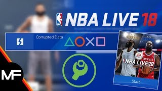 NBA LIVE 18 | PS4 CORRUPTED PLAYER DATA FIX TUTORIAL | NEVER LOSE ANOTHER PLAYER AGAIN BY SIMPLY...