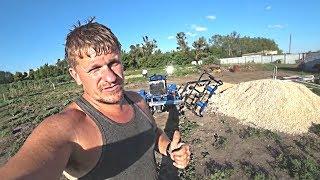 Поездка в компанию Дизель34.рф. Роторная косилка к мини трактору / Семья в деревне