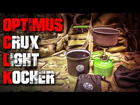 Optimus Crux Lite Kocher Terra Sola Kochset 0,6L - Review Test (Deutsch/German)