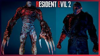 Resident Evil 2 Mods Jason Voorhees As Mr X And Super Tyrant