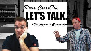 Dear CrossFit - Let's Talk