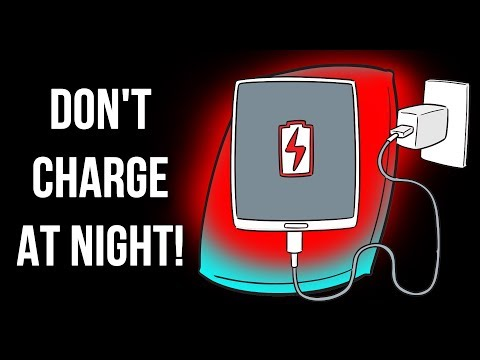 Stop Charging Your Phone at Night, Here's Why