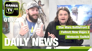 Star Wars Battlefront 2, Fallout: New Vegas 2, Nintendo Switch | Games TV 24 Daily - 01.02.2017