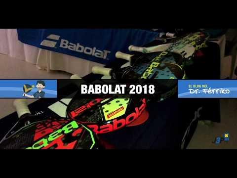 Presentación Babolat Pádel 2018 (Palas, zapatillas, paleteros, textil y accesorios)