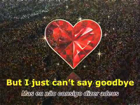Lionel Richie - Just Can't Say Goodbye (with lyrics)