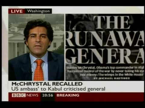 BBC Interview: Obama and McChrystal spat