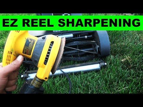 How to Sharpen the Reel on the Swardman Reel Mower