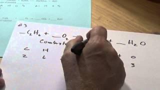 Problem #3 - Balancing Chemical Equations Quiz 4/17