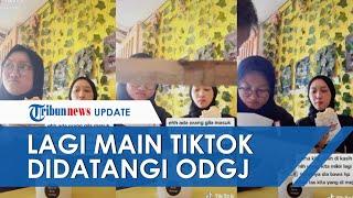 Sedang Buat Video Tik Tok Sambil Makan Es Krim, Remaja Ini Malah Didatangi ODGJ dan Seketika Panik