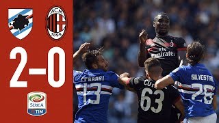 AC Milan Outplayed By Samp At Marassi: Sampdoria-AC Milan 2-0