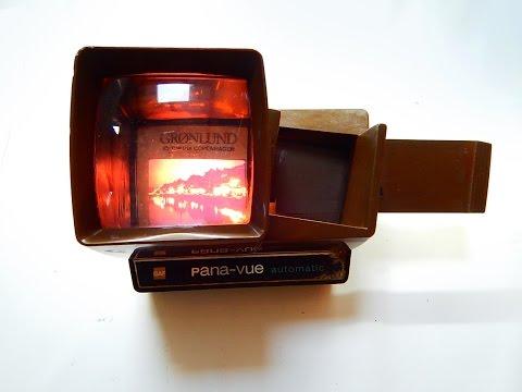Vintage visor de diapositivas
