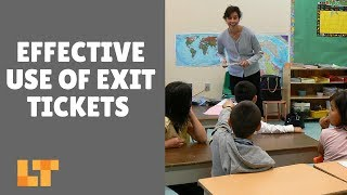 Quick And Easy Ways To Use Exit Tickets In The Classroom