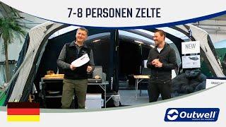 Outwell 7 8 Personen Zelte