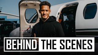 ✈️William Saliba's journey to Arsenal |  ️  ️  ️Access all areas