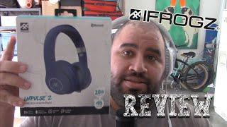 iFrogz Impulse 2 Headphone Review