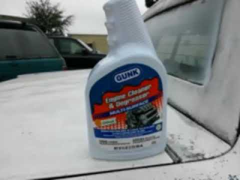 Gunk cleaner degreaser test review