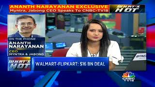 Ananth Narayanan Shares his View On The Walmart-Flipkart Deal
