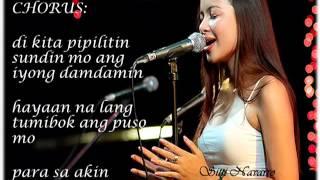 Para Sa Akin (Sitti W/ Lyrics)