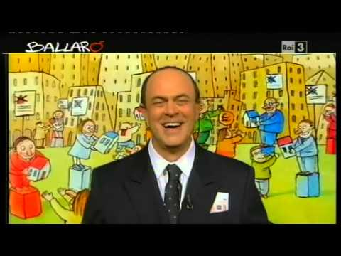 """Ballarò – MAURIZIO CROZZA 05/02/2013 – """"Tenetevi il resto!"""""""