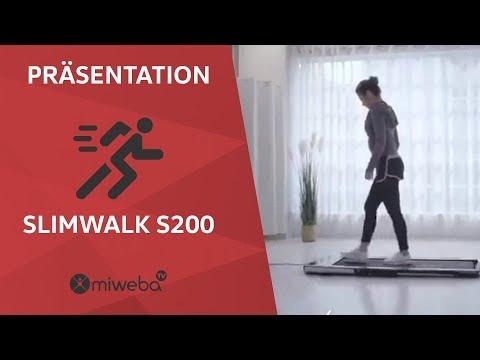 Wir präsentieren den NEUEN SLIMWALK S200 Laufband🏃♀️