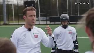 ABNAMRO EIFFEL Hockey Academie op bezoek bij Jeroen Hertzberger (Hertzberger TV)