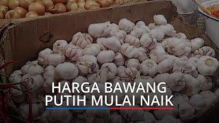 Harga Cabai Merah dan Bawang Putih Mulai Naik, Cek Harga Kebutuhan Pokok di Padang Hari Ini