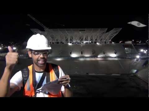 08/12/2012 - Por dentro da Obra - Arena Corinthians