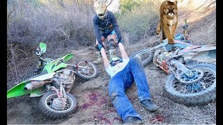 ATTACKED BY MOUNTAIN LION!!
