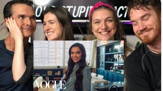 73 QUESTIONS With DEEPIKA PADUKONE | Vogue | REACTION!