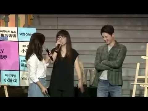 [ENG & TH SUB ซับไทย] Song Joong Ki & Song Hye Kyo Chengdu Fan Meeting | Playing Game