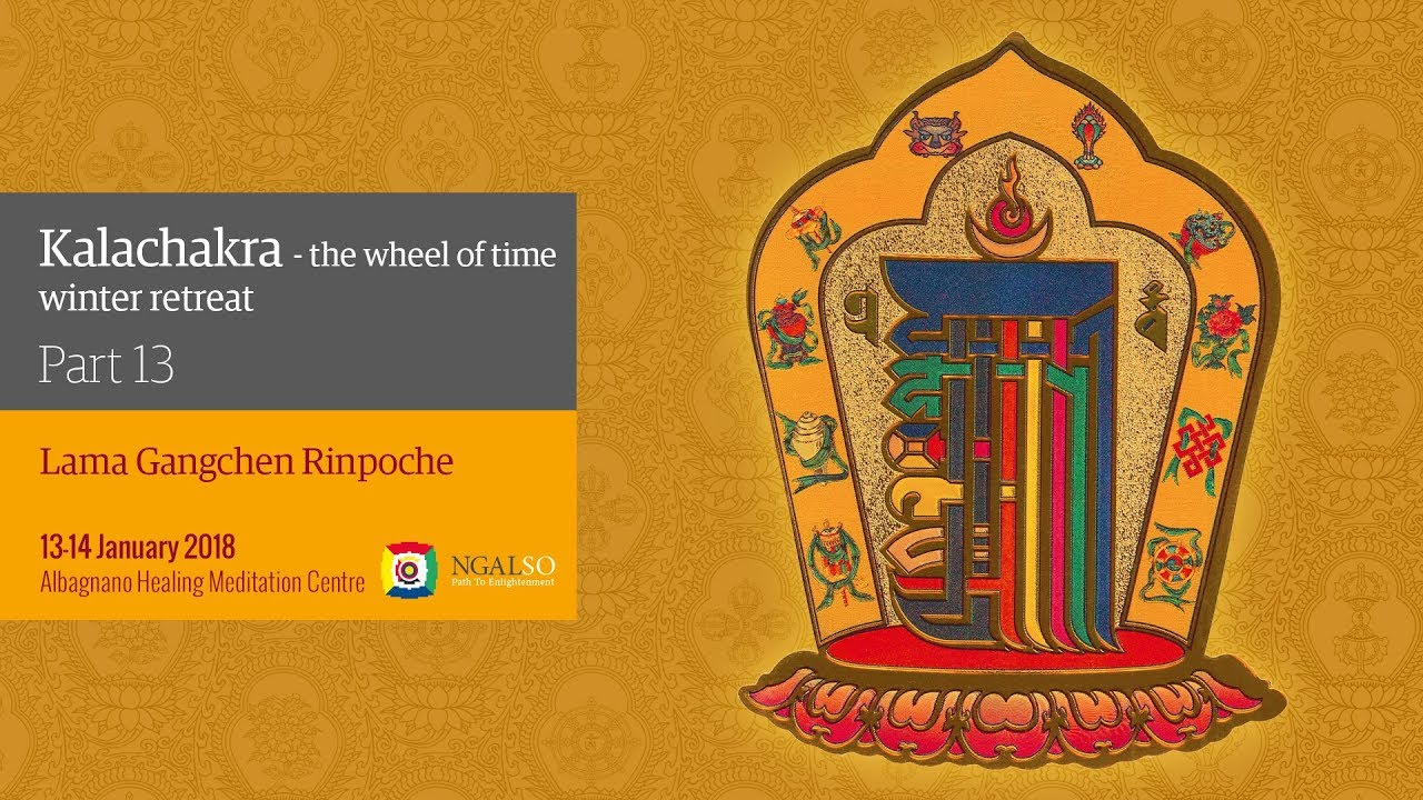 Kalachakra Festival –The Wheel of Time - winter retreat - part 12