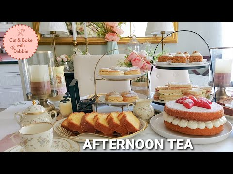 AFTERNOON TEA PART 1 TRADITIONAL BRITISH RECIPES