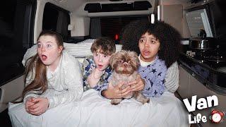 FAMILY VAN LIFE | Living In A Van For 24 HOURS!!!