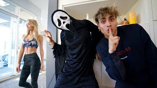 SCARY PRANKS ON FRIENDS AND FAMILY FOR 24 HOURS!