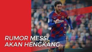 Dirumorkan akan Hengkang, Lionel Messi Beri Bantahan