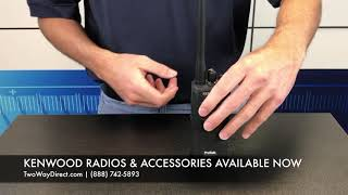 How to Remove a Kenwood Battery From A Handheld Radio