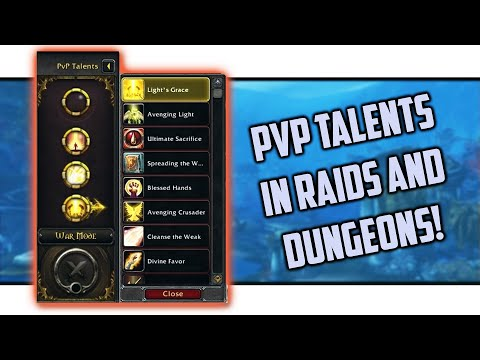 BfA 8 2 *OVERPOWERED* PvP Talents Made Into PvE Essences? Healer