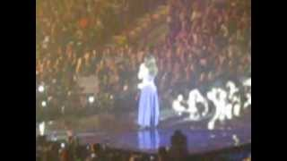 Cheryl Cole Newcastle Crying - Last One Standing/ 3 Words