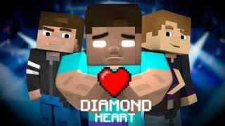 "♪ ""Diamond Heart"" (A Minecraft Parody of Imagine Dragons - Demons)"