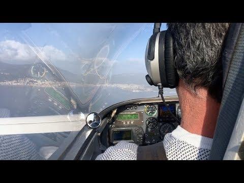 VIDEO. Corse : il rejoint le continent avec un avion construit dans son salon