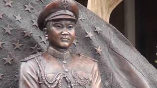 Hmong TV Network - General Vang Pao Statue in Chico CA  P1