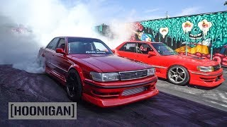 Twin 1JZ Cressida Fire Fight // DT261