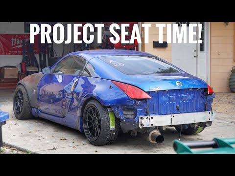 Seat Time 350Z Gets New Wheels!
