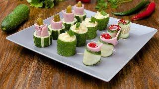 Закуски из огурцов - Рецепты от о Вкусом