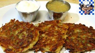 Classic Potato Pancakes - How to make Potato Pancakes - Potato Latke Recipe