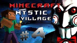"""Minecraft - Таинственная Деревня """"4 серия"""""""