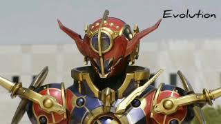 """Kamen Rider Evol Theme Song"" Evolution"